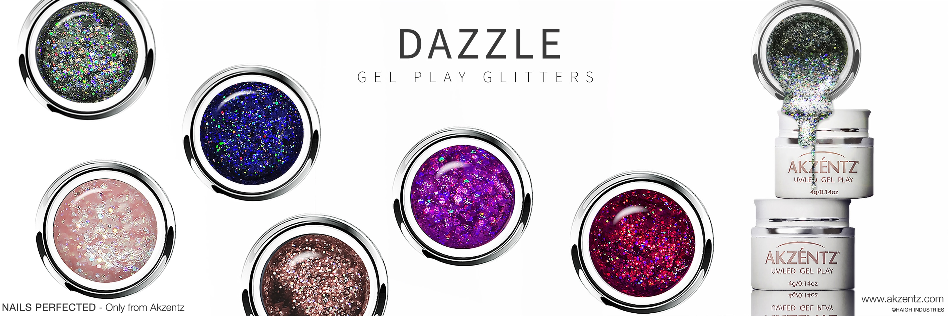Gel Play Glitter Dazzle UV/LEd